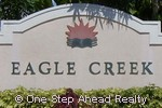 sign for Eagle Creek