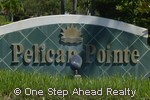 sign for Pelican Pointe