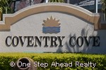 sign for Coventry Cove