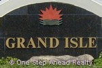 sign for Grand Isle