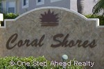 sign for Coral Shores