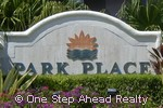 sign for Park Place