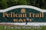 sign for Pelican Trail East